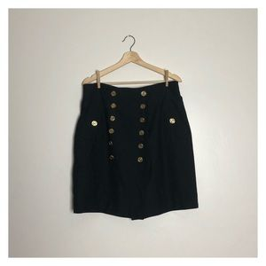 Moschino cheap and chic high waisted skirt